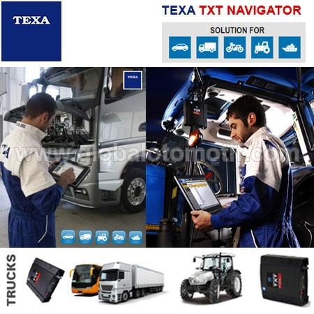 Scanner Truck - Bus - Alat Berat - MARINE » TEXA TXT