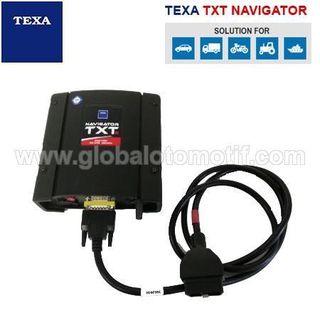 Alat Scan Mobil » TEXA TXT NAVIGATOR • www globalotomotif